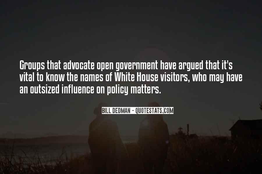 Bill Dedman Quotes #812619