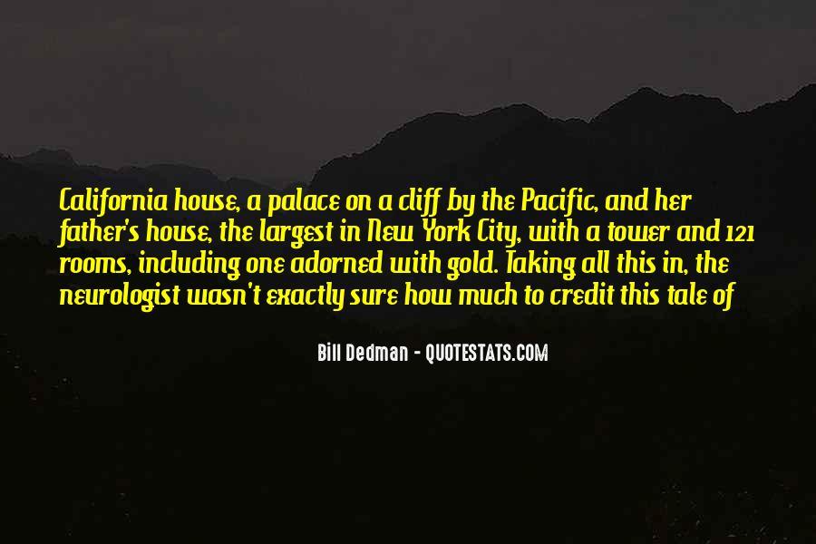 Bill Dedman Quotes #903178