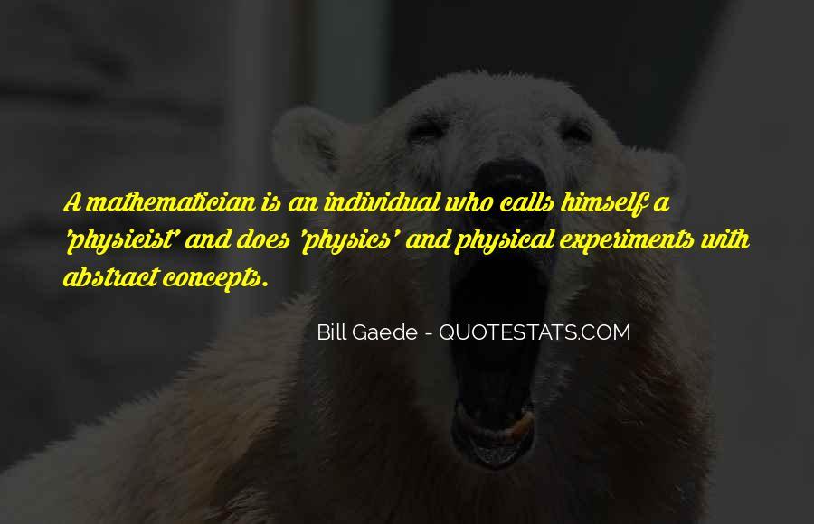 Bill Gaede Quotes #1609334