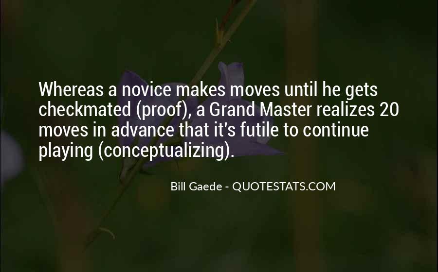 Bill Gaede Quotes #652771
