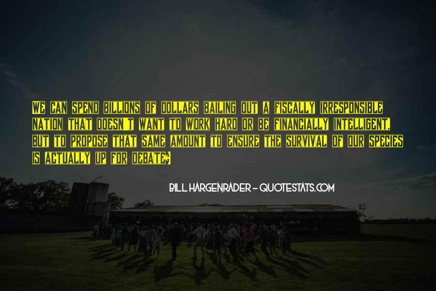 Bill Hargenrader Quotes #66190