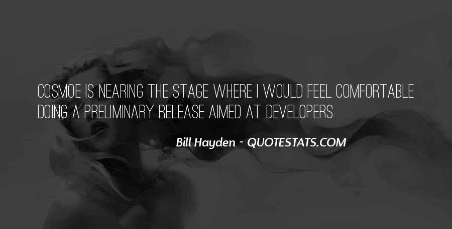 Bill Hayden Quotes #1737219