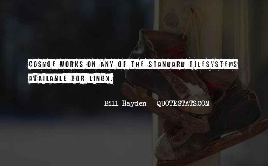 Bill Hayden Quotes #240459