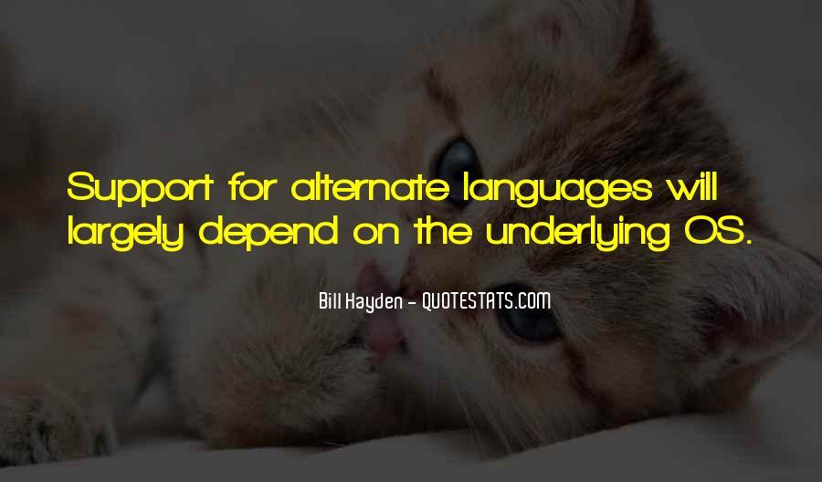 Bill Hayden Quotes #694782