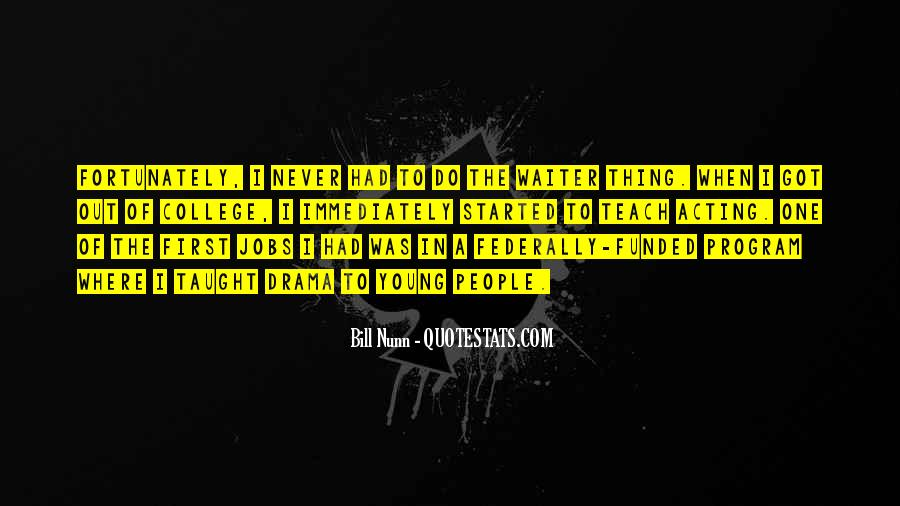 Bill Nunn Quotes #1639961