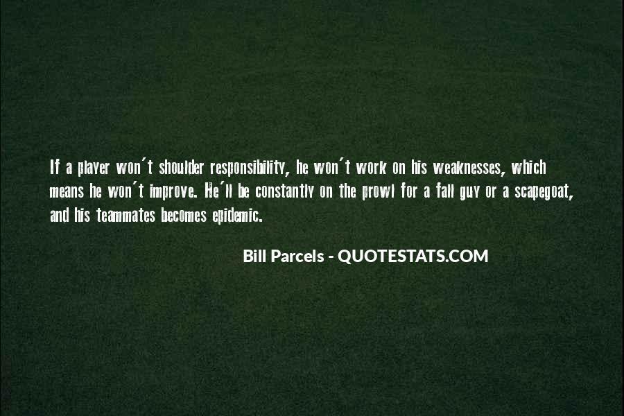Bill Parcels Quotes #1784636