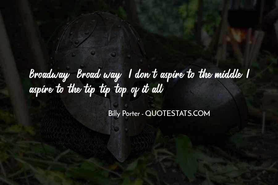 Billy Porter Quotes #1317738