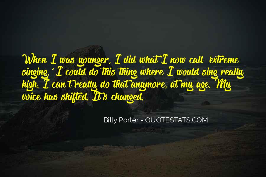 Billy Porter Quotes #327007