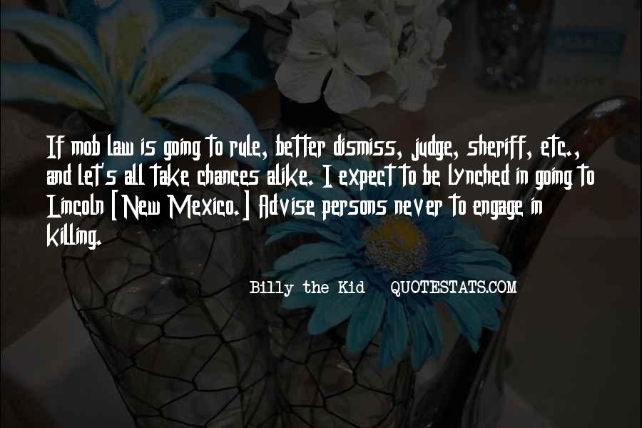 Billy The Kid Quotes #1312120