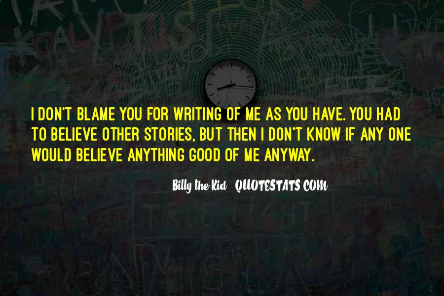 Billy The Kid Quotes #134819