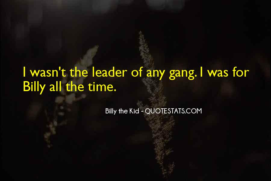Billy The Kid Quotes #1571095