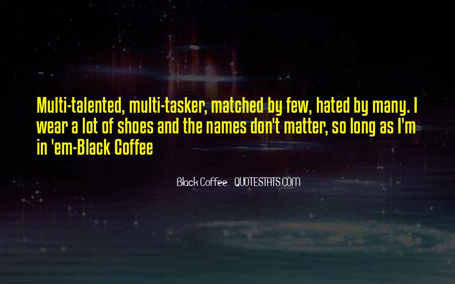 black coffee quotes sayings