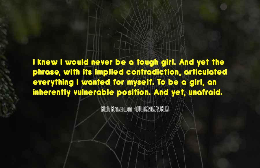 Blair Braverman Quotes #668513