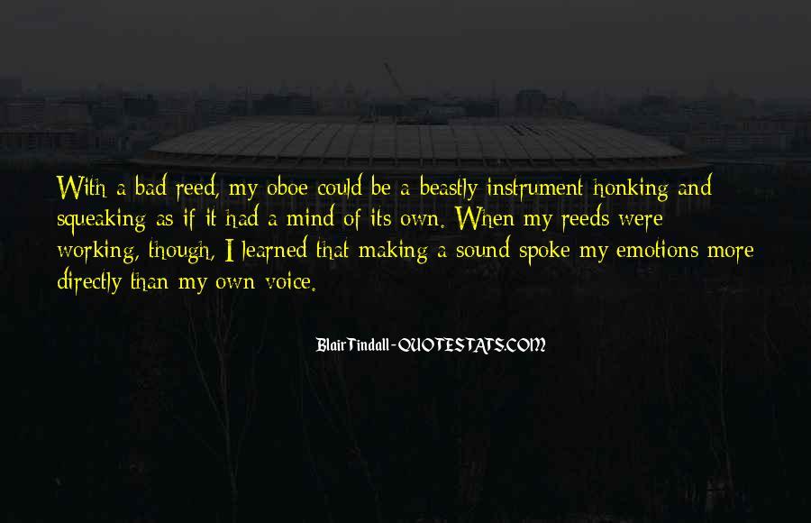 Blair Tindall Quotes #1136418