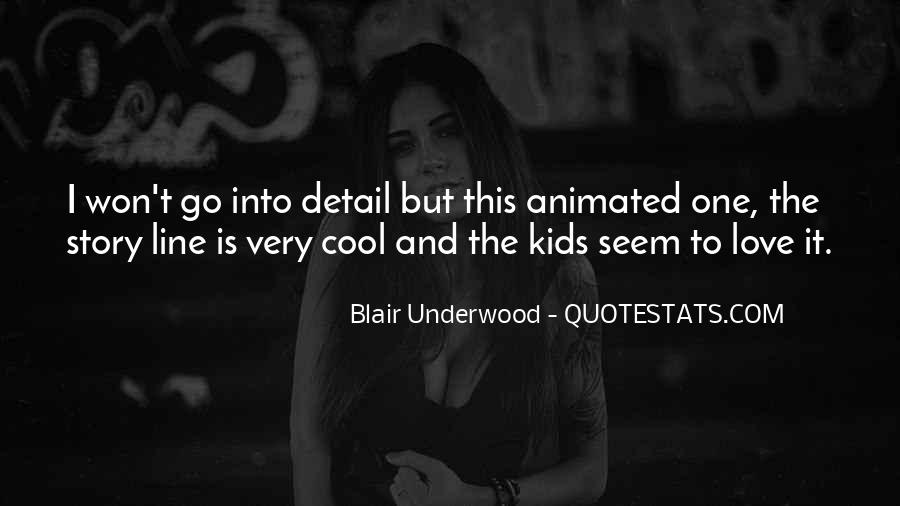 Blair Underwood Quotes #1569180
