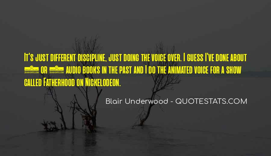 Blair Underwood Quotes #243083