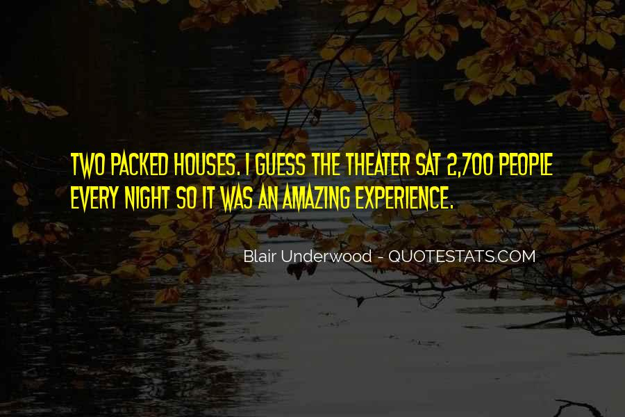 Blair Underwood Quotes #899255