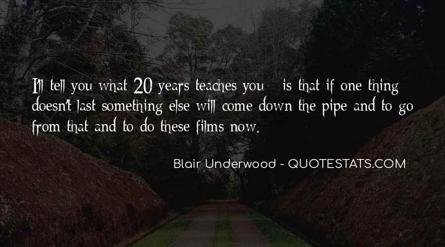 Blair Underwood Quotes #9262