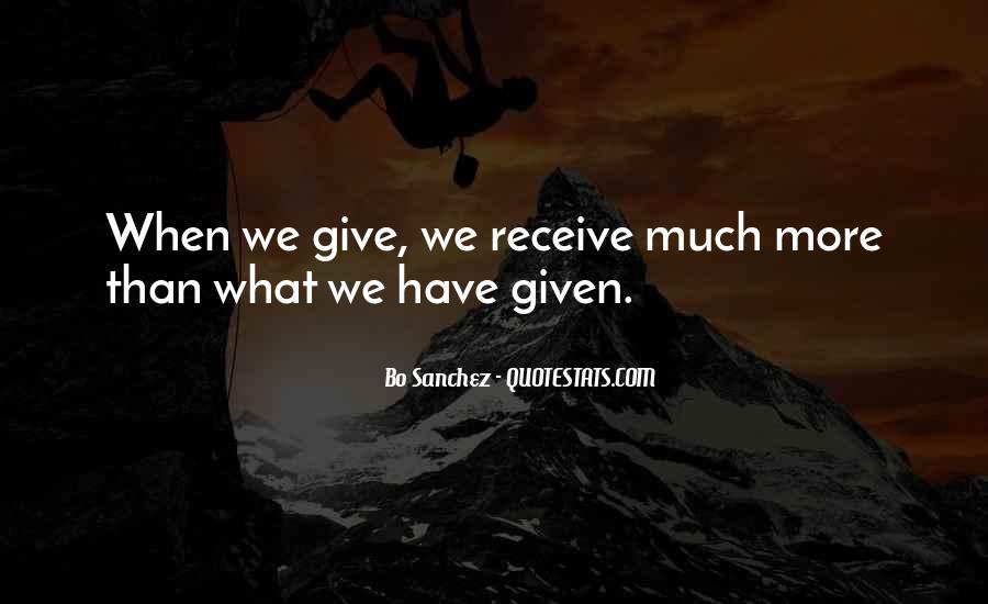 Bo Sanchez Quotes #1835496