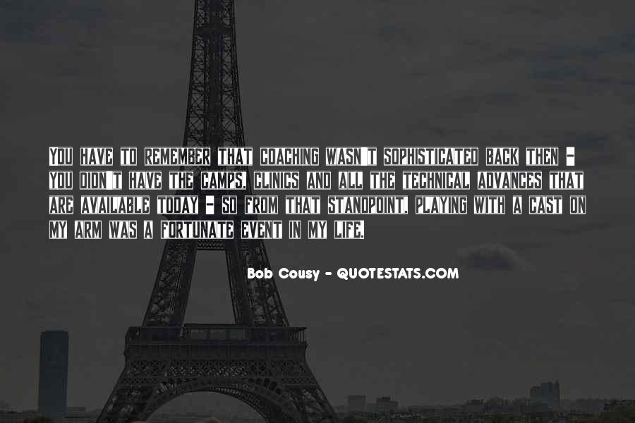 Bob Cousy Quotes #1060444