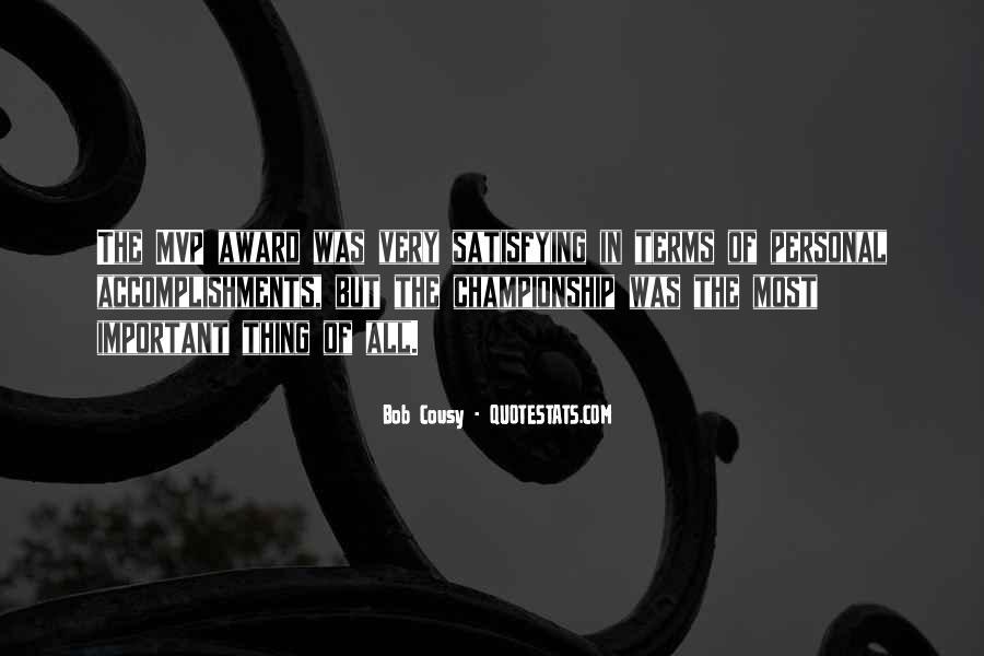 Bob Cousy Quotes #1176996