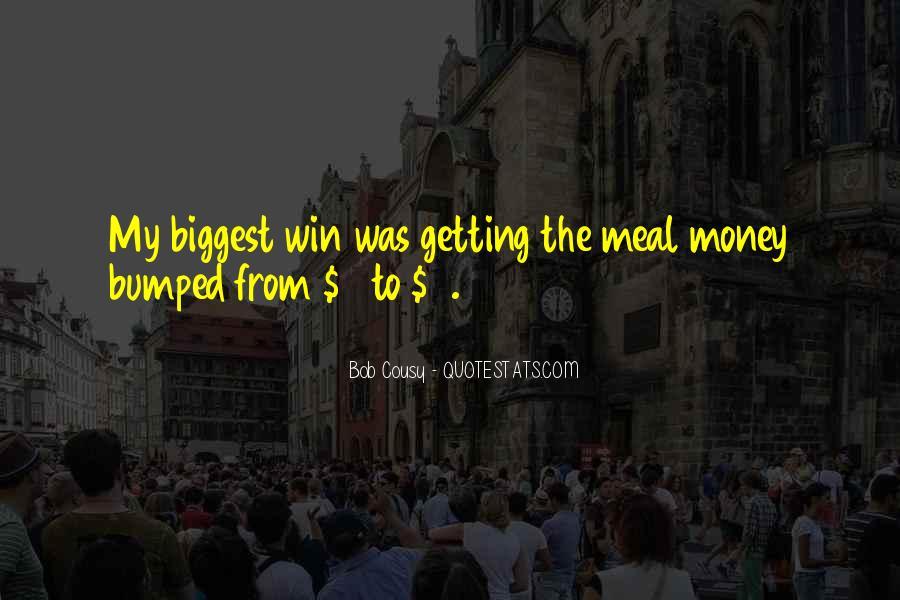 Bob Cousy Quotes #1751691