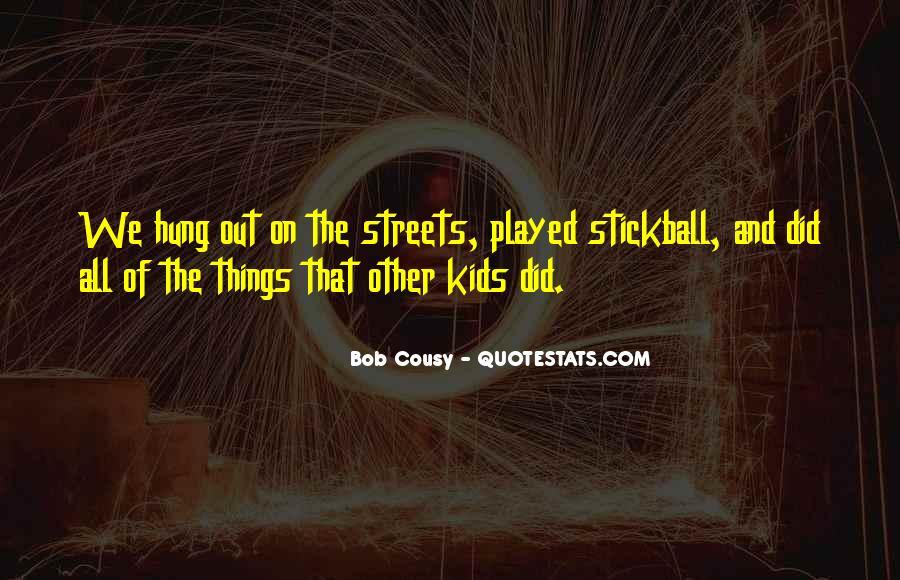 Bob Cousy Quotes #1823605