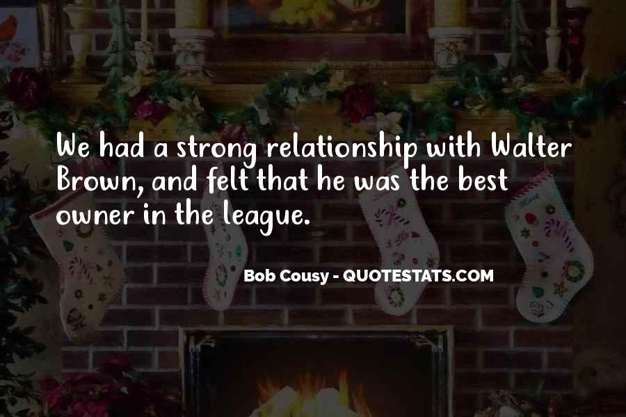 Bob Cousy Quotes #560050