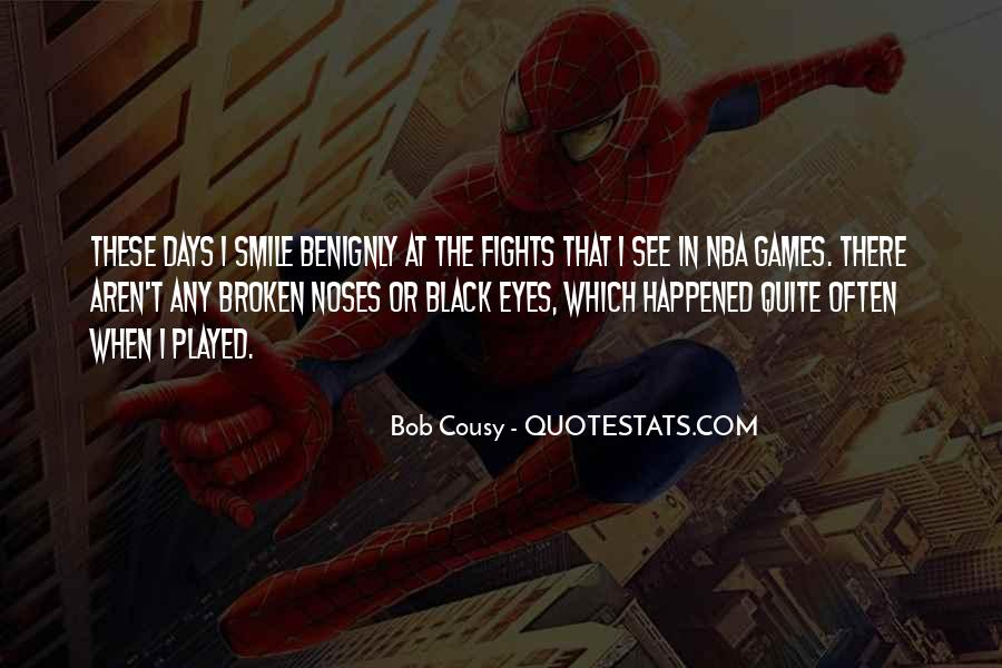 Bob Cousy Quotes #611134