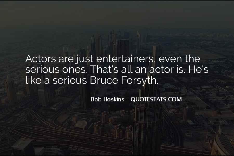 Bob Hoskins Quotes #1821327
