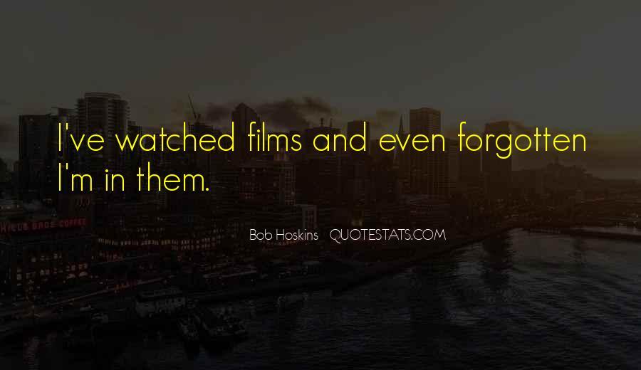 Bob Hoskins Quotes #267350