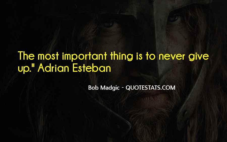 Bob Madgic Quotes #1397299