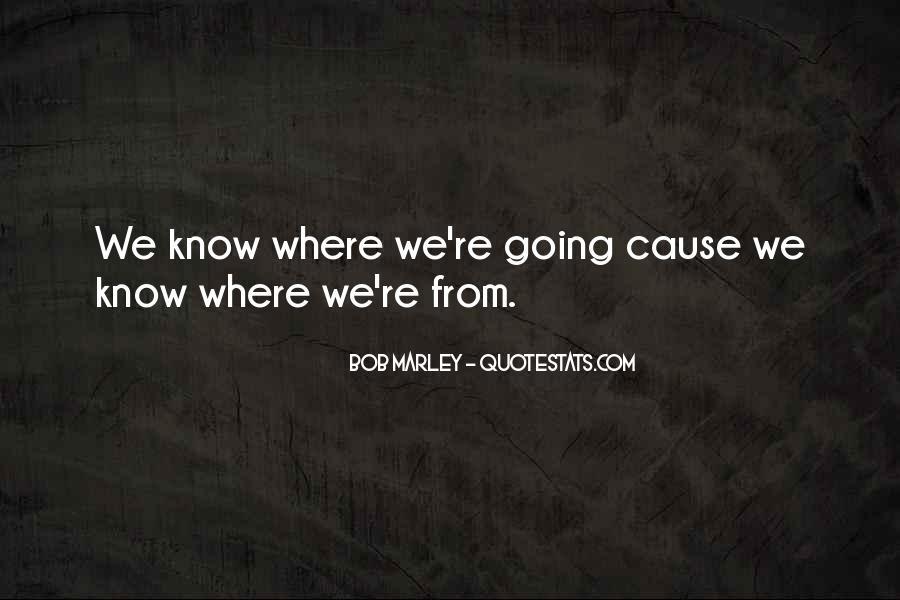 Bob Marley Quotes #1026973