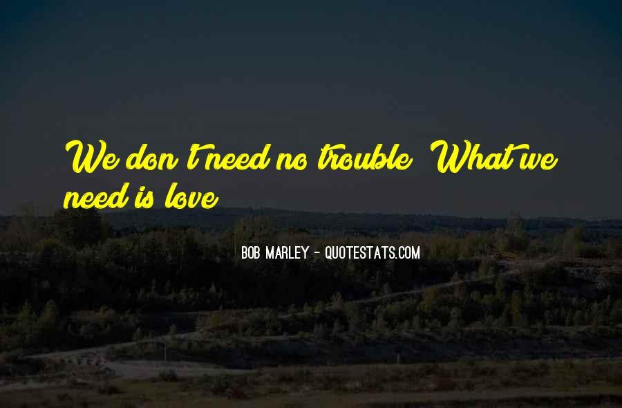 Bob Marley Quotes #1029312