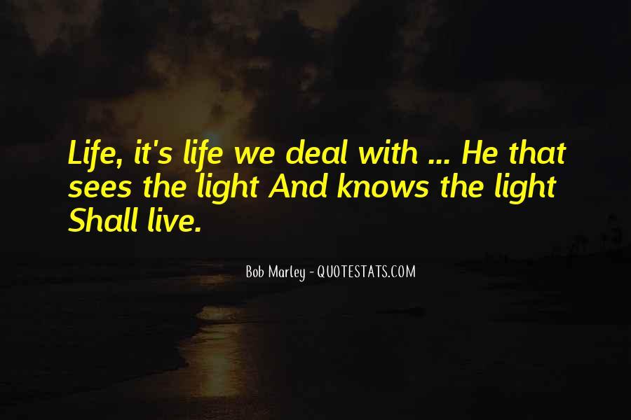 Bob Marley Quotes #1117438