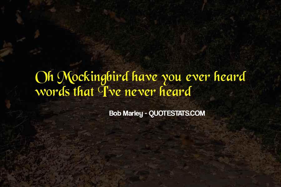 Bob Marley Quotes #1576446
