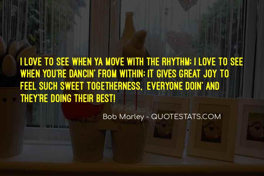 Bob Marley Quotes #243500