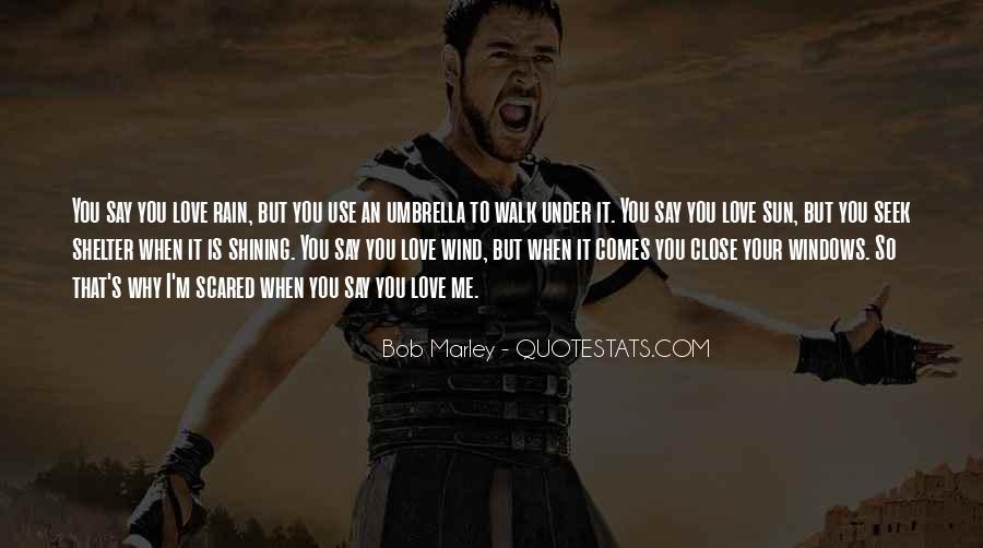 Bob Marley Quotes #309137
