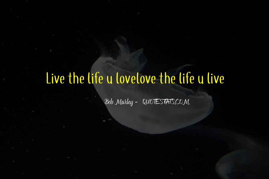 Bob Marley Quotes #465052