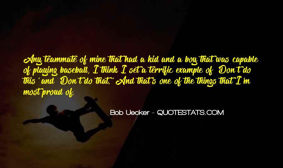 Bob Uecker Quotes #1089504