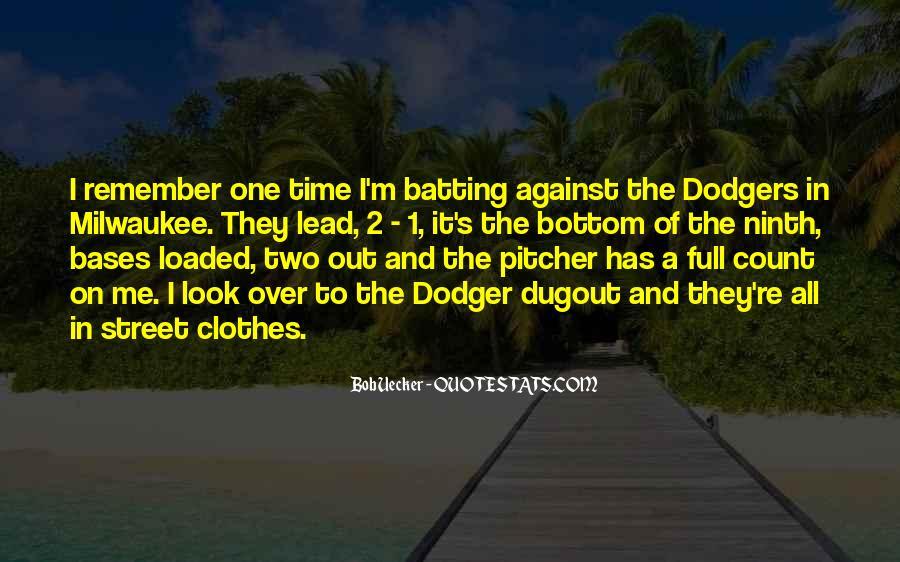 Bob Uecker Quotes #1179428