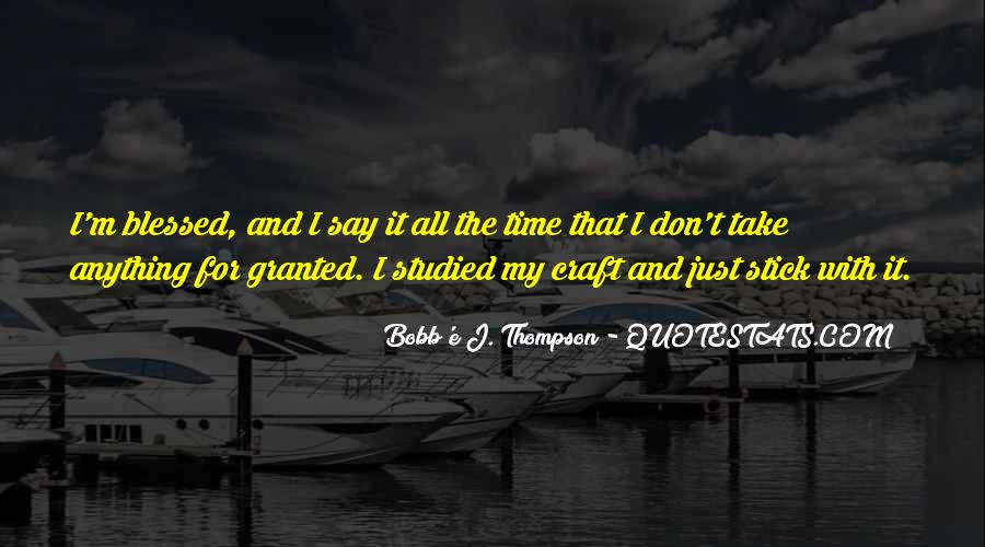 Bobb'e J. Thompson Quotes #538363