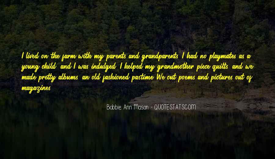 Bobbie Ann Mason Quotes #1422157