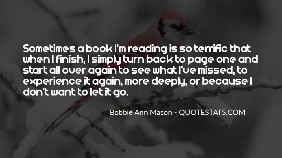Bobbie Ann Mason Quotes #1555632