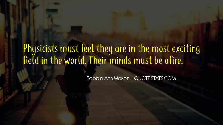 Bobbie Ann Mason Quotes #374439