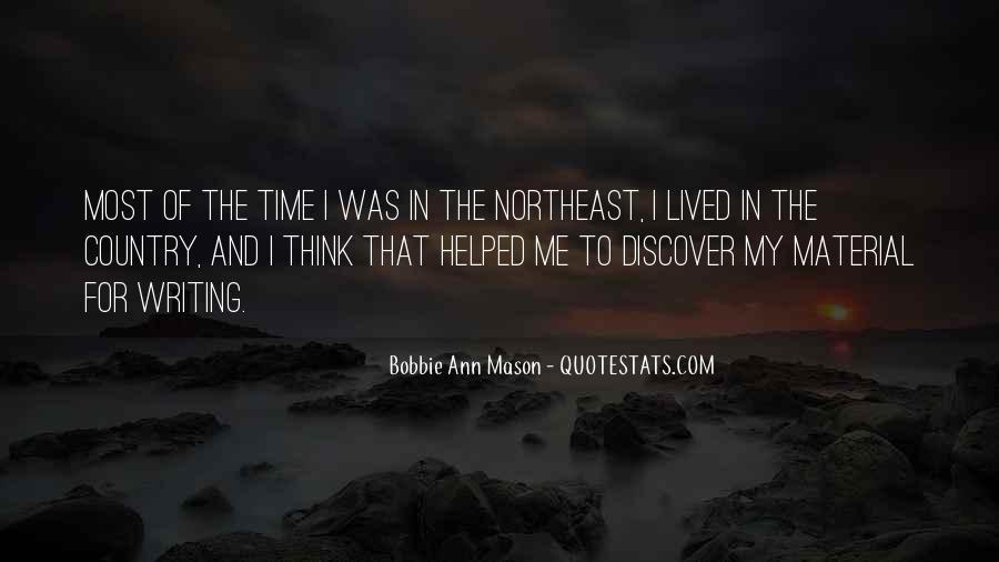 Bobbie Ann Mason Quotes #484934