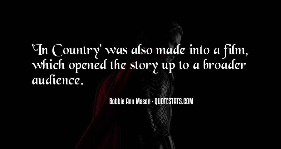 Bobbie Ann Mason Quotes #520170