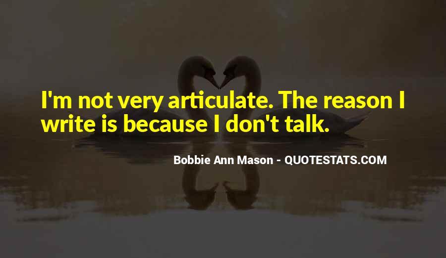 Bobbie Ann Mason Quotes #753479