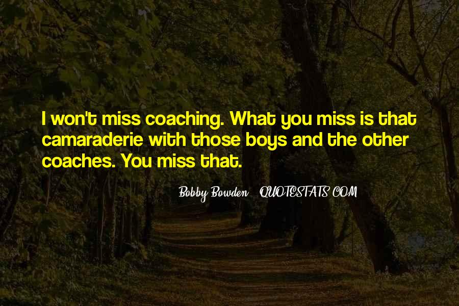 Bobby Bowden Quotes #102523