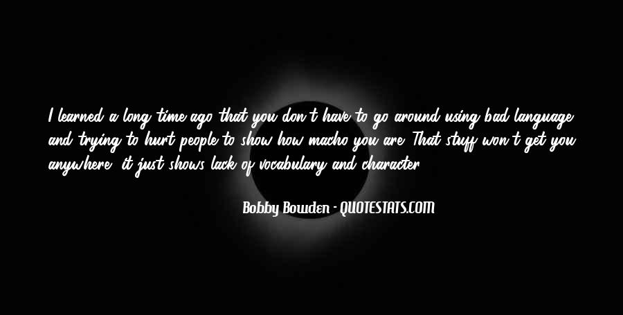 Bobby Bowden Quotes #1090026